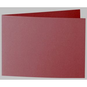 Artoz 1001 - 'Bordeaux' Card. 338mm x 120mm 220gsm B6 Bi-Fold (Short Edge) Card.