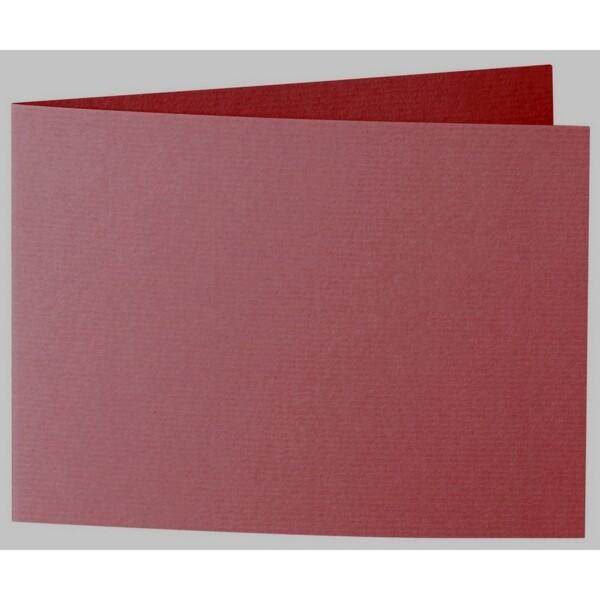 Artoz 1001 - 'Bordeaux' Card. 338mm x 120mm 220gsm B6 Bi-Fold (Short Edge) Card.