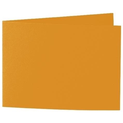 Artoz 1001 - 'Mandarin' Card. 338mm x 120mm 220gsm B6 Bi-Fold (Short Edge) Card.