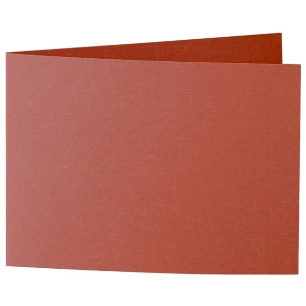 Artoz 1001 - 'Copper' Card. 338mm x 120mm 220gsm B6 Bi-Fold (Short Edge) Card.