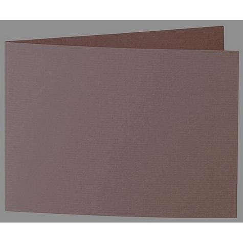 Artoz 1001 - 'Brown' Card. 338mm x 120mm 220gsm B6 Bi-Fold (Short Edge) Card.