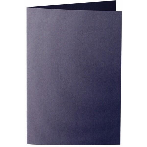 Artoz 1001 - 'Jet Black' Card. 250mm x 180mm 220gsm E6 Bi-Fold (Long Edge) Card.