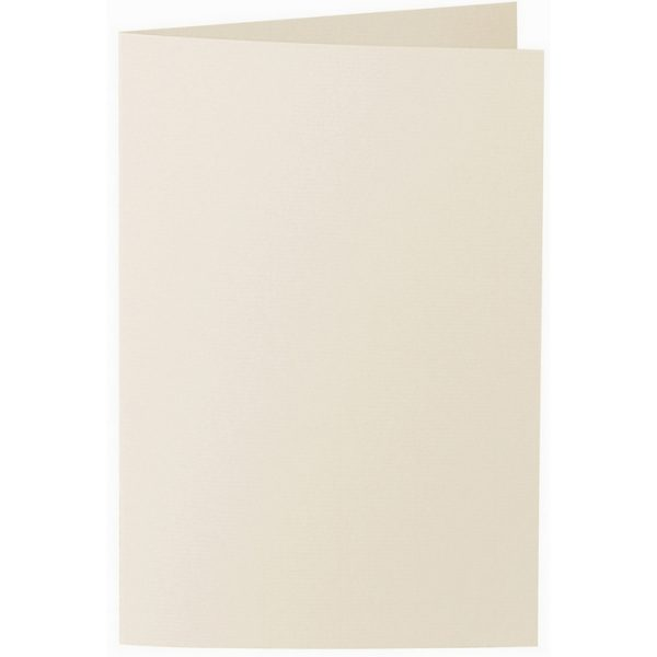 Artoz 1001 - 'Chamois' Card. 250mm x 180mm 220gsm E6 Bi-Fold (Long Edge) Card.