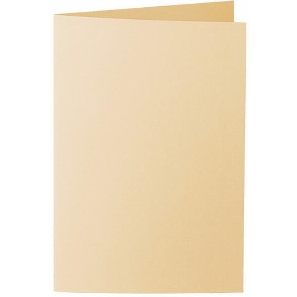 Artoz 1001 - 'Honey Yellow' Card. 250mm x 180mm 220gsm E6 Bi-Fold (Long Edge) Card.