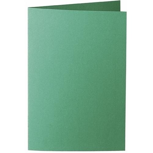 Artoz 1001 - 'Firtree Green' Card. 250mm x 180mm 220gsm E6 Bi-Fold (Long Edge) Card.