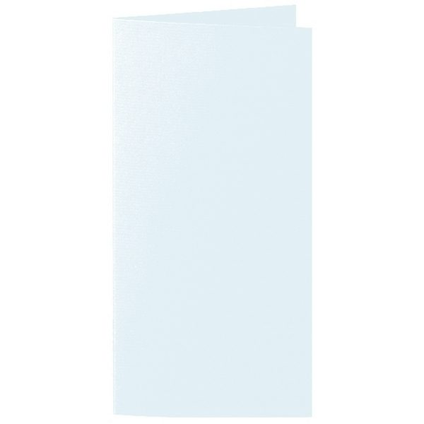 Artoz 1001 - 'Light Blue' Card. 250mm x 180mm 220gsm E6 Bi-Fold (Long Edge) Card.