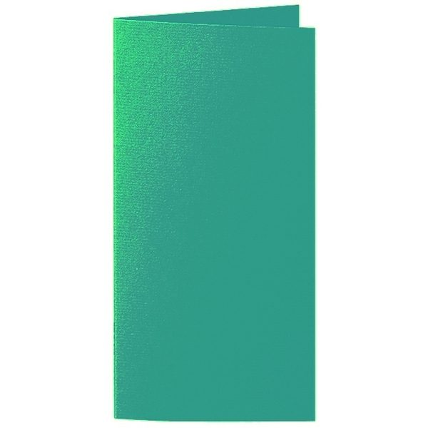Artoz 1001 - 'Tropical Green' Card. 250mm x 180mm 220gsm E6 Bi-Fold (Long Edge) Card.