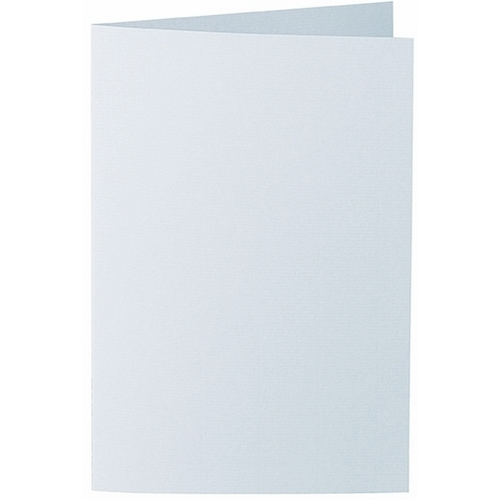 Artoz 1001 - 'Sky Blue' Card. 250mm x 180mm 220gsm E6 Bi-Fold (Long Edge) Card.