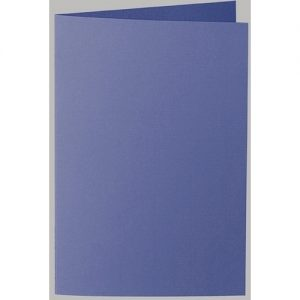 Artoz 1001 - 'Indigo' Card. 250mm x 180mm 220gsm E6 Bi-Fold (Long Edge) Card.