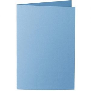 Artoz 1001 - 'Marine Blue' Card. 250mm x 180mm 220gsm E6 Bi-Fold (Long Edge) Card.