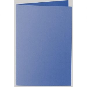 Artoz 1001 - 'Royal Blue' Card. 250mm x 180mm 220gsm E6 Bi-Fold (Long Edge) Card.