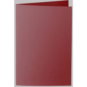 Artoz 1001 - 'Bordeaux' Card. 250mm x 180mm 220gsm E6 Bi-Fold (Long Edge) Card.