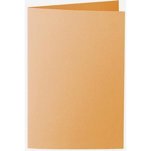 Artoz 1001 - 'Mango' Card. 250mm x 180mm 220gsm E6 Bi-Fold (Long Edge) Card.