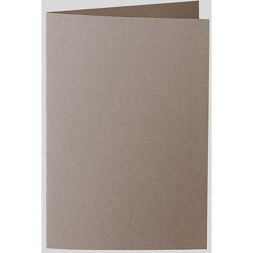 Artoz 1001 - 'Taupe' Card. 250mm x 180mm 220gsm E6 Bi-Fold (Long Edge) Card.