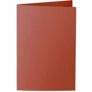 Artoz 1001 - 'Copper' Card. 250mm x 180mm 220gsm E6 Bi-Fold (Long Edge) Card.