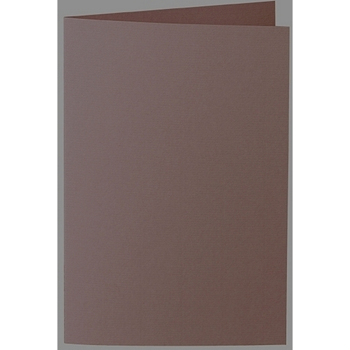 Artoz 1001 - 'Brown' Card. 250mm x 180mm 220gsm E6 Bi-Fold (Long Edge) Card.