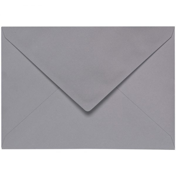 Artoz 1001 - 'Graphite' Envelope. 191mm x 135mm 100gsm E6 Gummed Envelope.