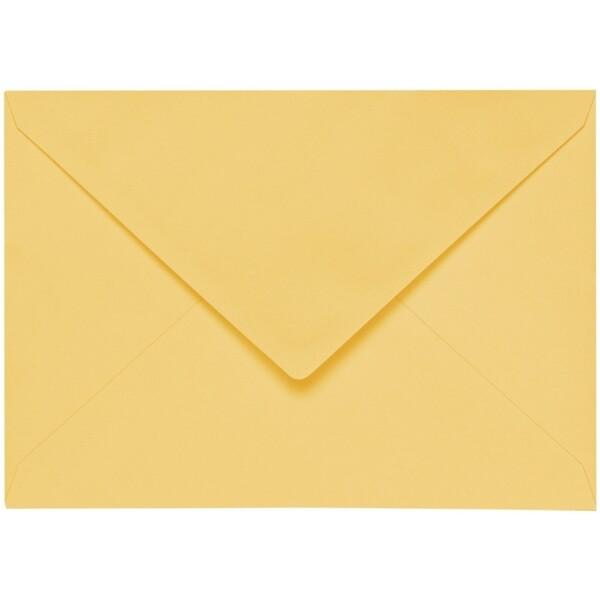 Artoz 1001 - 'Light Yellow' Envelope. 191mm x 135mm 100gsm E6 Gummed Envelope.