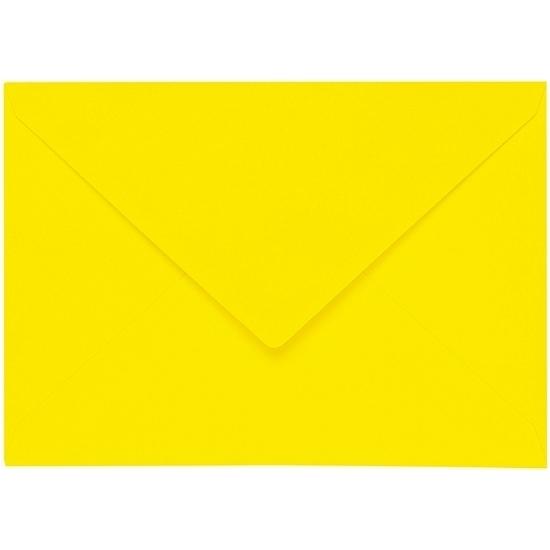 Artoz 1001 - 'Corn Yellow' Envelope. 191mm x 135mm 100gsm E6 Gummed Envelope.