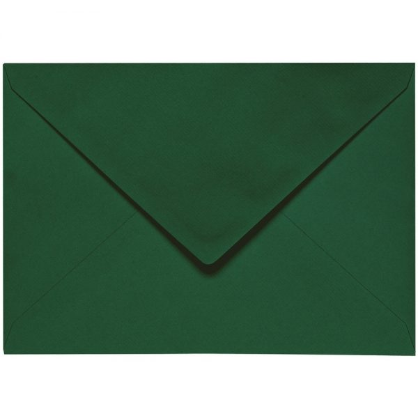 Artoz 1001 - 'Racing Green' Envelope. 191mm x 135mm 100gsm E6 Gummed Envelope.