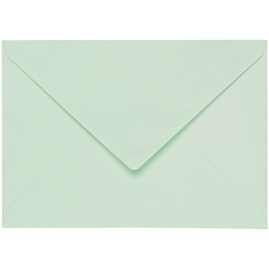Artoz 1001 - 'Pale Mint' Envelope. 191mm x 135mm 100gsm E6 Gummed Envelope.