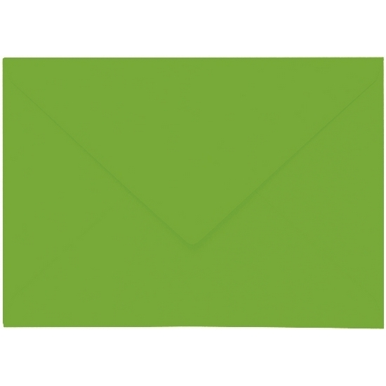 Artoz 1001 - 'Pea Green' Envelope. 191mm x 135mm 100gsm E6 Gummed Envelope.