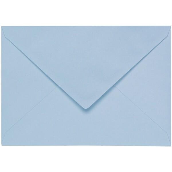 Artoz 1001 - 'Pastel Blue' Envelope. 191mm x 135mm 100gsm E6 Gummed Envelope.