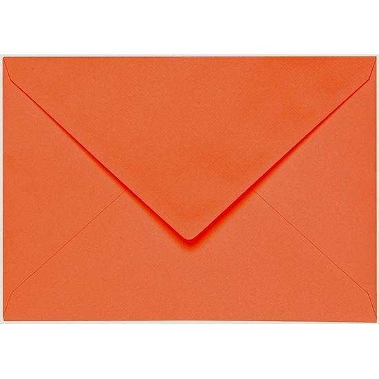 Artoz 1001 - 'Lobster Red' Envelope. 191mm x 135mm 100gsm E6 Gummed Envelope.