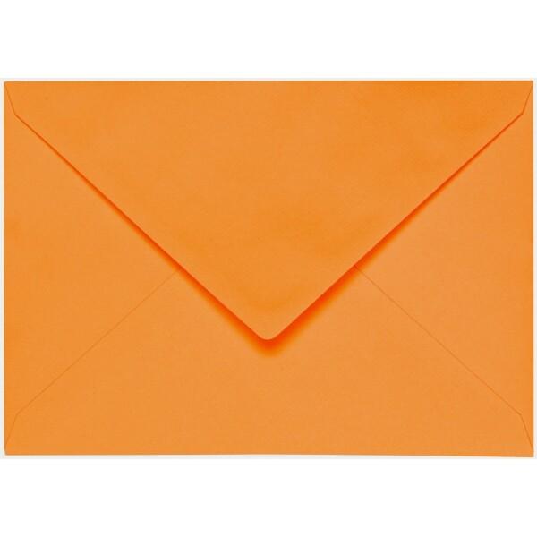 Artoz 1001 - 'Orange' Envelope. 191mm x 135mm 100gsm E6 Gummed Envelope.
