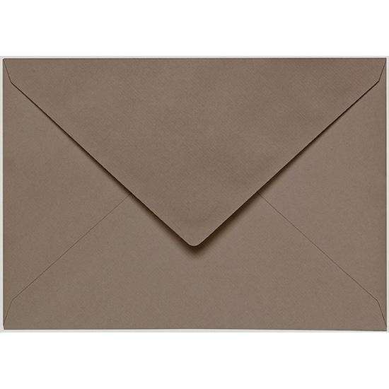 Artoz 1001 - 'Taupe' Envelope. 191mm x 135mm 100gsm E6 Gummed Envelope.