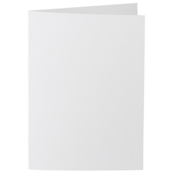 Artoz 1001 - 'Bianco White' Card. 297mm x 210mm 220gsm A5 Folded (Long Edge) Card.