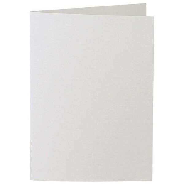 Artoz 1001 - 'Silver Grey' Card. 297mm x 210mm 220gsm A5 Folded (Long Edge) Card.