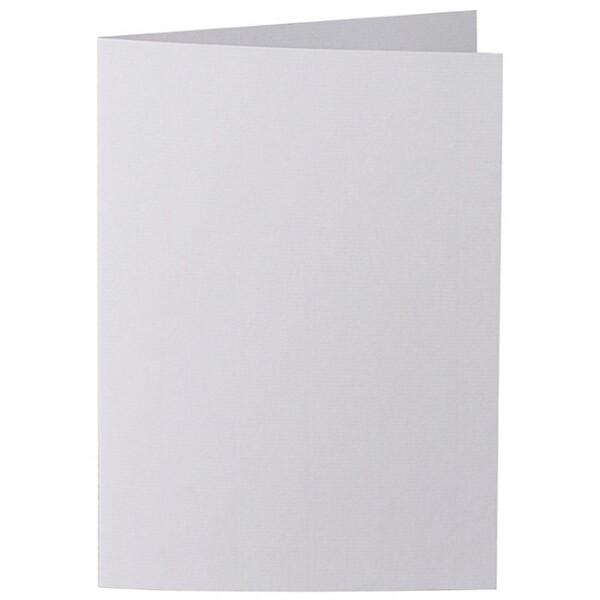 Artoz 1001 - 'Light Grey' Card. 297mm x 210mm 220gsm A5 Folded (Long Edge) Card.