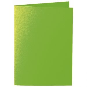 Artoz 1001 - 'Pea Green' Card. 297mm x 210mm 220gsm A5 Folded (Long Edge) Card.