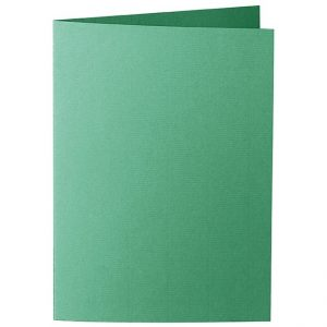 Artoz 1001 - 'Firtree Green' Card. 297mm x 210mm 220gsm A5 Folded (Long Edge) Card.