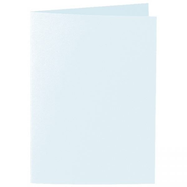 Artoz 1001 - 'Light Blue' Card. 297mm x 210mm 220gsm A5 Folded (Long Edge) Card.