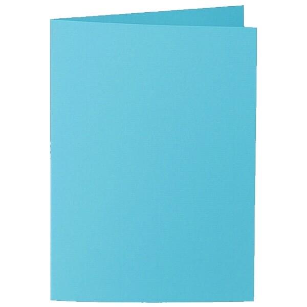 Artoz 1001 - 'Turquoise' Card. 297mm x 210mm 220gsm A5 Folded (Long Edge) Card.