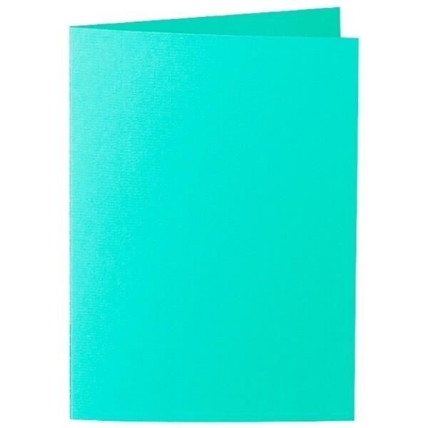 Artoz 1001 - 'Emerald Green' Card. 297mm x 210mm 220gsm A5 Folded (Long Edge) Card.