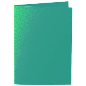 Artoz 1001 - 'Tropical Green' Card. 297mm x 210mm 220gsm A5 Folded (Long Edge) Card.