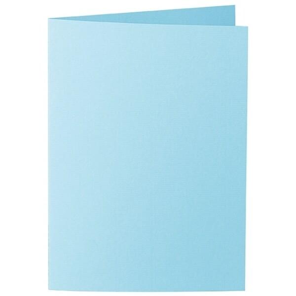Artoz 1001 - 'Azure Blue' Card. 297mm x 210mm 220gsm A5 Folded (Long Edge) Card.