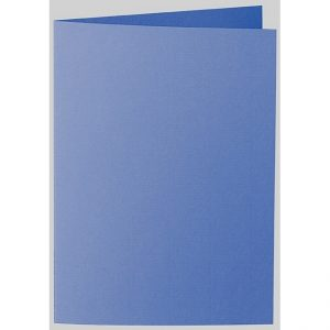 Artoz 1001 - 'Royal Blue' Card. 297mm x 210mm 220gsm A5 Folded (Long Edge) Card.