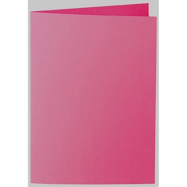 Artoz 1001 - 'Fuchsia' Card. 297mm x 210mm 220gsm A5 Folded (Long Edge) Card.