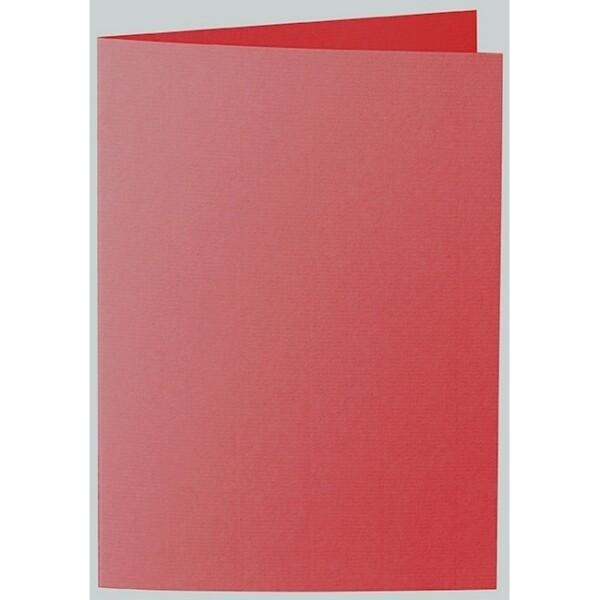 Artoz 1001 - 'Red' Card. 297mm x 210mm 220gsm A5 Folded (Long Edge) Card.