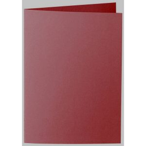 Artoz 1001 - 'Bordeaux' Card. 297mm x 210mm 220gsm A5 Folded (Long Edge) Card.
