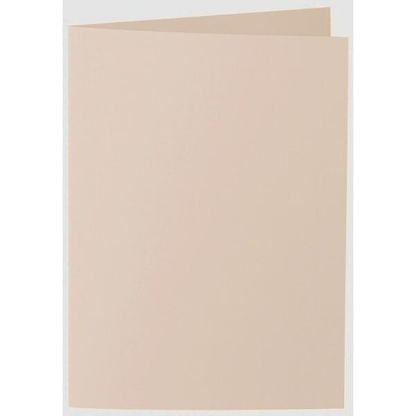 Artoz 1001 - 'Apricot' Card. 297mm x 210mm 220gsm A5 Folded (Long Edge) Card.