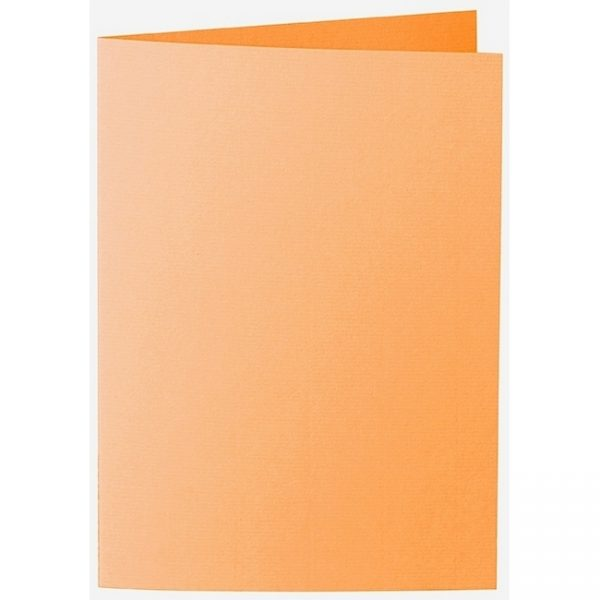 Artoz 1001 - 'Mango' Card. 297mm x 210mm 220gsm A5 Folded (Long Edge) Card.