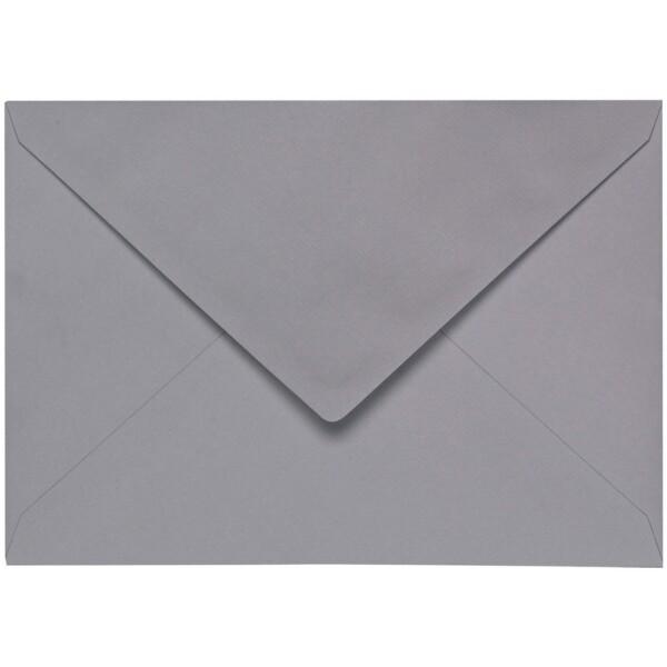 Artoz 1001 - 'Graphite' Envelope. 229mm x 162mm 100gsm C5 Lined Gummed Envelope.