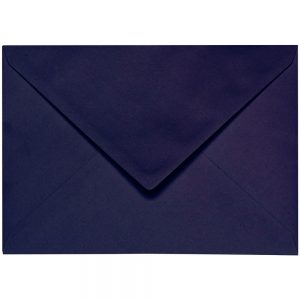 Artoz 1001 - 'Jet Black' Envelope. 229mm x 162mm 100gsm C5 Lined Gummed Envelope.