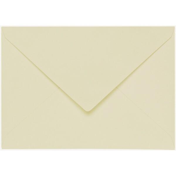 Artoz 1001 - 'Crema' Envelope. 229mm x 162mm 100gsm C5 Lined Gummed Envelope.