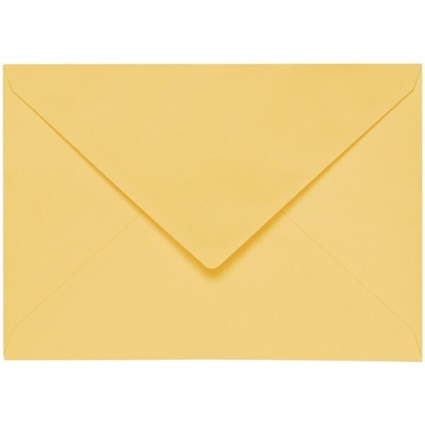 Artoz 1001 - 'Light Yellow' Envelope. 229mm x 162mm 100gsm C5 Lined Gummed Envelope.